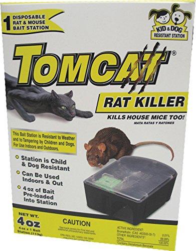MOTOMCO Tomcat Disposable Rat Killer