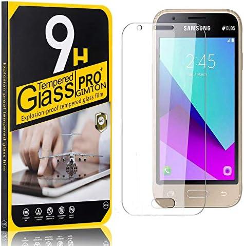 GIMTON Displayschutzfolie für Galaxy J1 Mini Prime, Ultra klar Schutzfilm aus Gehärtetem Glas, Anti Kratzen Displayschutz Schutzfolie für Samsung Galaxy J1 Mini Prime, 3 Stück