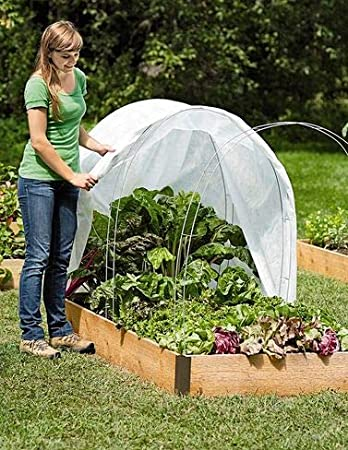 Merveilleux Hi Rise Super Hoops, Tall Garden Fabric Support Frame, Set Of 6