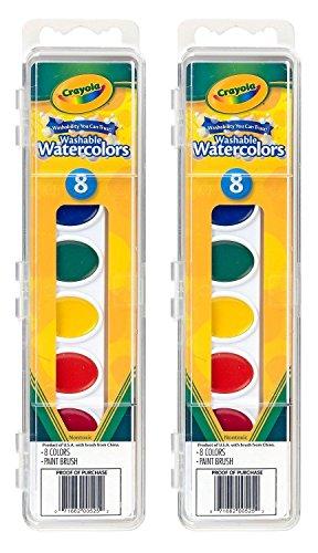 Crayola TRTAZ11A Watercolor Paints