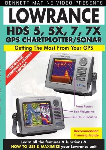 Lowrance Hds Series 5, 5x, 5m, 7, 7m Chartplotters/Fishfinders Fishfinder Instructional Dvd