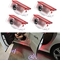 Car Door Welcome Light,Car Ghost Shadow Logo Light Car Door Projector Light Logo LED Door Lamp
