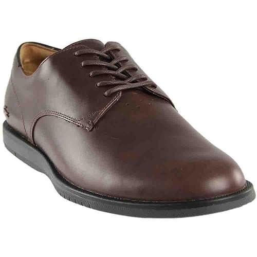 Lacoste - 734cam0037-176 Hombres, Marrón (Marrón), 11 D(M) US: Amazon.es: Zapatos y complementos