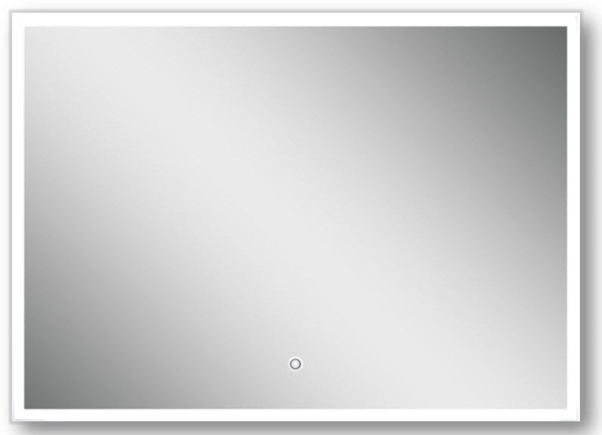 Ove Decors Saros LED Lighted Mirror with Touch Sensor, 39-Inch by 28-Inch
