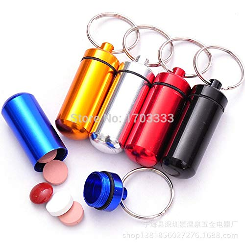 - Shipping Container Micro Pill Box Cache Container Geocache Geocaching Keychain Holder Fd001 500pcs - Design Pen Living Stick London Ramp Roof Storage Dollhouse Lugs