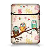 "New Arrival Cute Owls 12"" Laptop Sleeve Case Netbook Flip Bag Pouch Cover For 11.6"" Apple Macbook Air,Acer Aspire S7/Samsung Google 11.6"" Chromebook PC,Dell Inspiron 11z 1110,12.1"" Apple iBOOK PC,DELL Latitude E6230 XT2 XPS Duo,Lenovo Ideapad,ASUS Taichi21, 11.6"" ENVY X2, HP Pavilion dm1?Alienware M11x 11.6"",Lenovo Ideapad,Sony IBM ASUS"