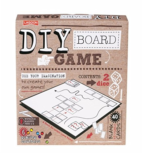 DIY Board Game - Make Your Own Game Board Kit by Lagoon Group