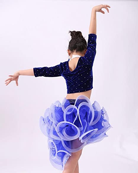 Baile Latino Rendimiento Ropa Ropa de la Etapa ...