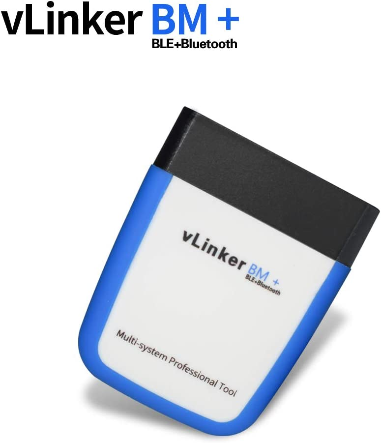 TONWON OBDII Bluetooth Vgate vLinker BM OBD Scanner OBD2 Diagnostic Tool Check Engine Light for Android /& Windows Bluetooth 3.0