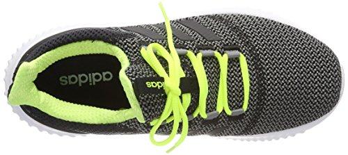 adidas Cloudfoam Ultimate, Zapatillas de Running Unisex Niños Gris (Gritre / Negbas / Amasol 000)