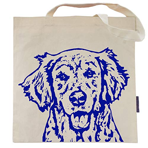 Pet Studio Art Ginny the Golden Retriever Tote Bag ()