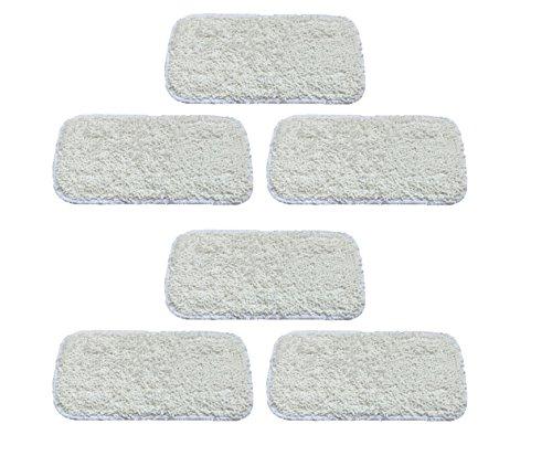 Surrgound Microfiber Cleaning Pads Fit for Sienna Luna Steam Mop SSM-3006,6pcs by Surrgound