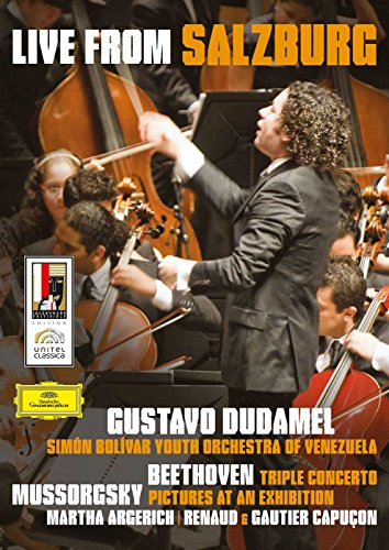 Gustavo Dudamel: Live from Salzburg - Beethoven/Mussorgsky (Beethoven Triple Concerto Best Recording)