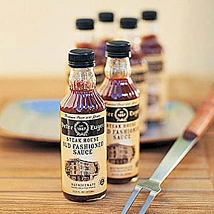 Amazon Com Peter Luger Steak Sauce 6 Bottle Gift Set Gourmet Sauces Gifts Grocery Gourmet Food