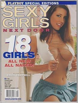 Playboys Sexy Girls Next Door October  Editors Of Playboys Sexy Girls Next Door Magazine Amazon Com Books