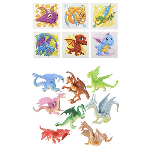 Dragon PARTY Favors - 36 Mini Figures 2