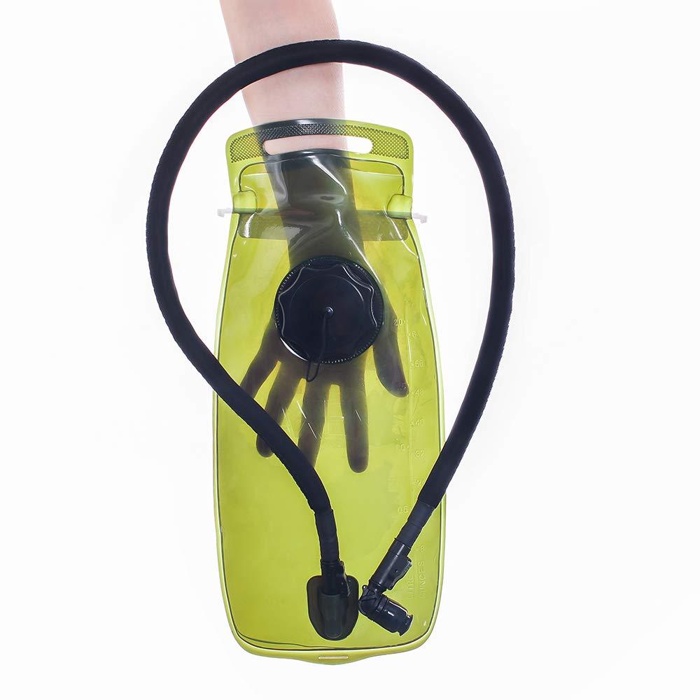Kylebooker Dep/ósito Camelback Bolsa de Agua para Deportes al Aire Libre Bolsa de hidrataci/ón Bolsa 2 l Agua Color Verde tama/ño 2 L
