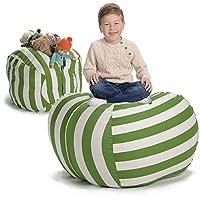 Creative QT Stuffed Animal Storage Bean Bag Chair - Extra Large Stuff