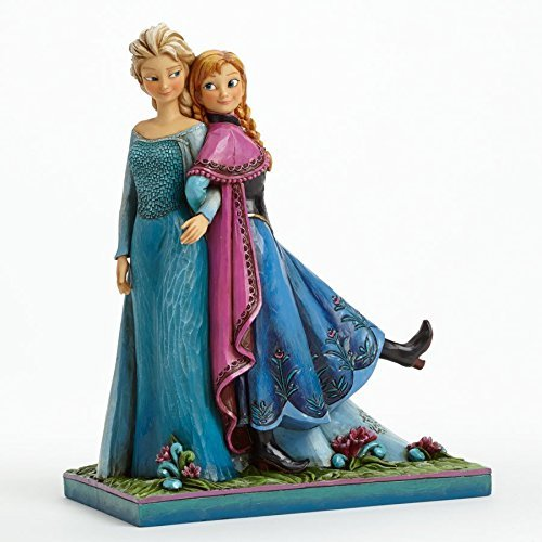Disney Traditions Frozen Elsa and Anna Musical Figurine by Heartwood Creek