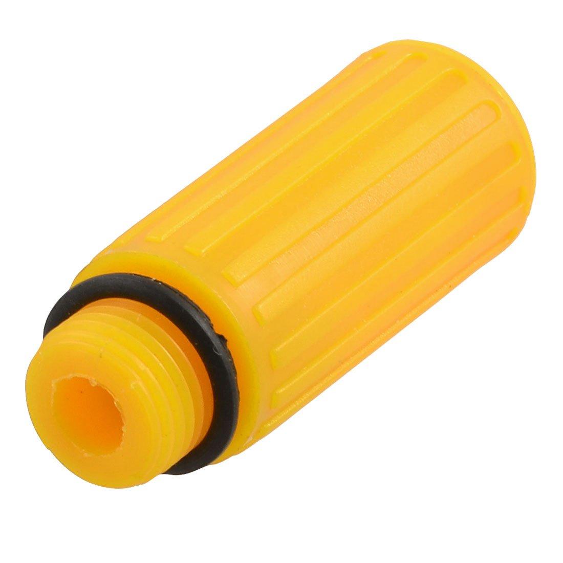Sourcingmap - 16mm tapó n de aceite masculina diá metro de rosca de plá stico naranja para el compresor de aire a12070500ux0178