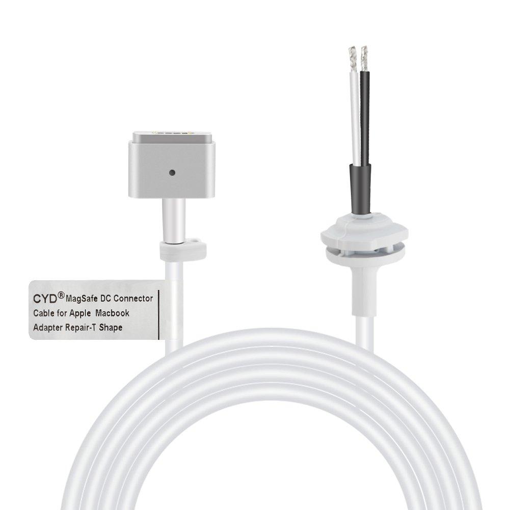 QYD 14.85V 3.05A 45W Reparar Alimentación Adaptador de Corriente para MagSafe 2 MacBook Air MD223 MD224 MD231 MD232 MD592 MD711 MD712 MD760 MD761 ...