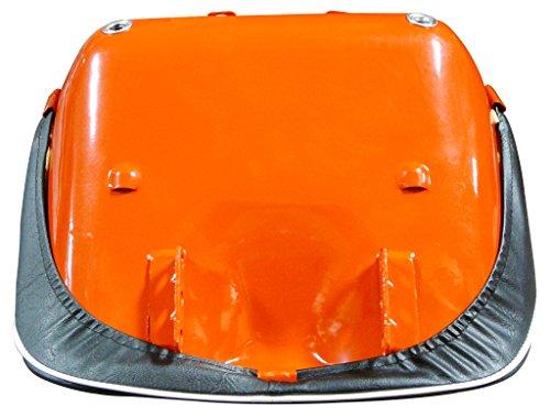 Kubota SEAT ASSEMBLY, BLACK/ORANGE, KUBOTA S.71984 L Series 34200-18400, 34200-18403