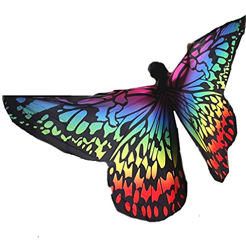 2019 Exotic Boy/Girls Butterfly Belly Dance ISIS Wings Birthday Party Gift(Gradient ()