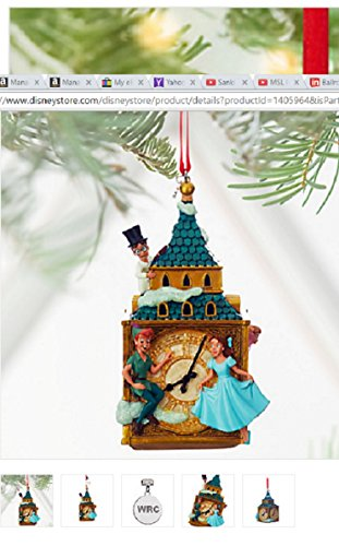 disney-peter-pan-and-darling-children-sketchbook-ornament-new