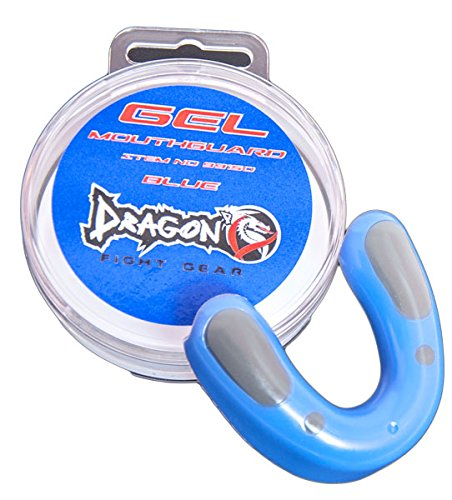 Dragon Do Mouth Guard Best for Karate, Taekwondo, Boxing, Kickboxing, MMA, Martial Arts - High Protection for Teeth - Different Color- Junior and Adult Sizes Available (Blue, Junior)