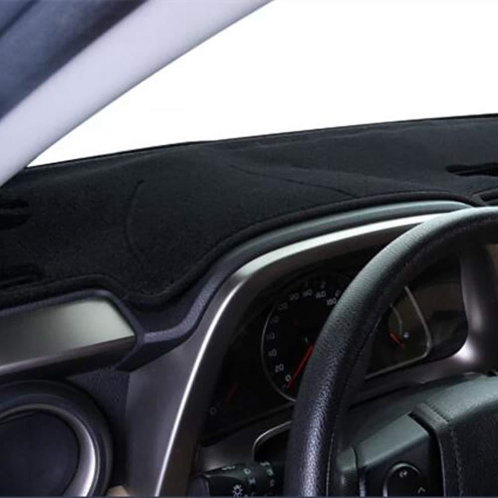 Cubierta del salpicadero interior del coche de 2 capas de la alfombrilla de la alfombra parasol Compatible con Rover LR2 Freelander 2 2007-2013 unidad de mano izquierda 2014,C