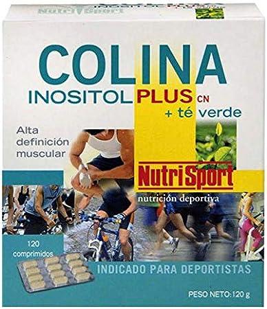 NutriSport Colina Inositol Plus y Té Verde - 120 Tabletas: Amazon ...