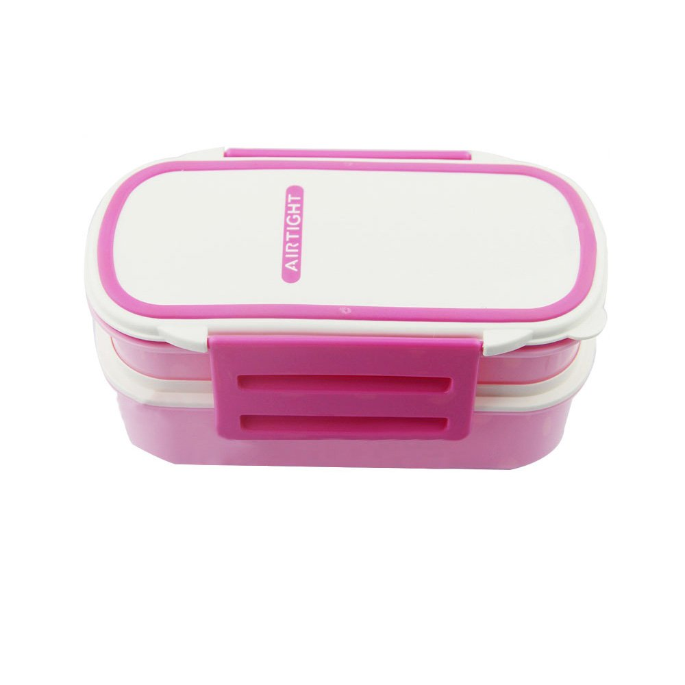 Leakproof Japanese Bento boxes,2 Layers Design Lunch Containers for Kids Back to School and Adult,All-in-one Stackable Food Storage Containers,Microwave Safe-42oz/1200ml-Blue Weiding Trade Co. Ltd GH9685