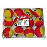 Penn QST 36 Foam Red Tennis Balls, 12 Ball Bag