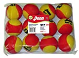 Penn QST 36 Foam Red Tennis Balls, 12 Ball Polybag