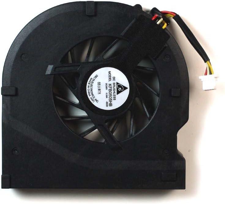 Power4Laptops Replacement Laptop Fan for Gateway C-140 Gateway TA1 Gateway CX2608 Gateway CX2755 Gateway CX2620