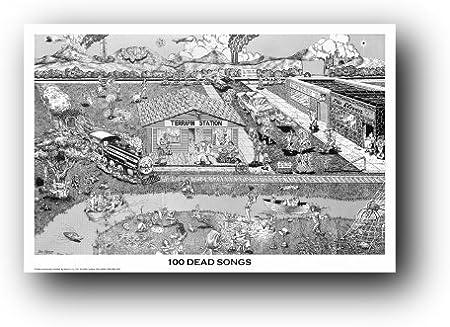 Grateful Dead Fare Rock Music Band Fabric Poster Art TY909-20x30 24x36 Inch