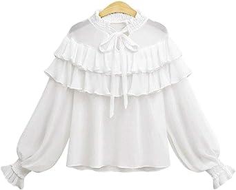 Cuello Alto para Mujer Tops del del Sólido Vendaje Color ...