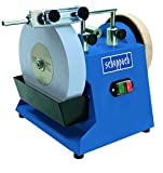 Scheppach TIGER 2500 240 V Wet Stone Sharpener - Blue/Black