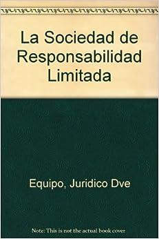 Book La Sociedad de Responsabilidad Limitada