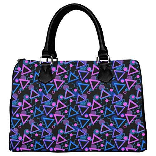 Jasonea Women Boston Handbag Top Handle Handbag Satchel Celebrating Triangles Basad174399