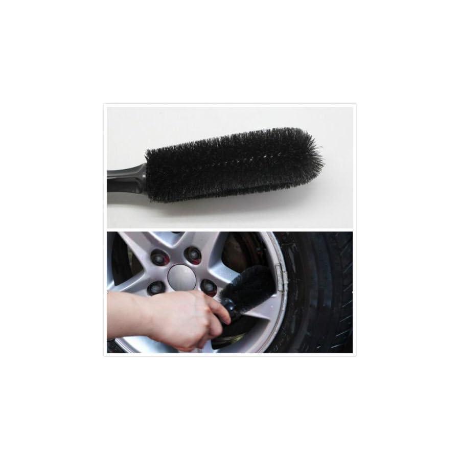 Car Vehicle Motorcycle Wheel Tire Rim Scrub Brush Washing Cleaning Tool
