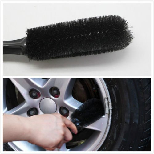 Car Vehicle Motorcycle Wheel Tire Rim Scrub Brush Washing Cleaning Tool