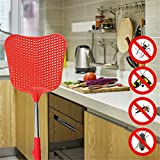 foxany Fly Swatters Extendable, Durable Plastic Fly
