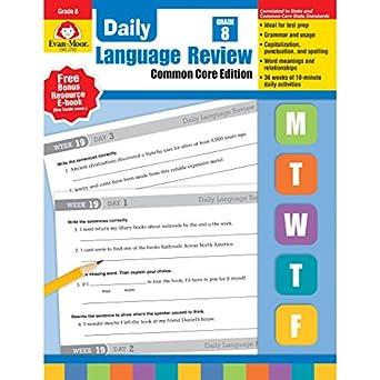 Amazon com: Evan-Moor EMC2798-A1 Daily Language Review