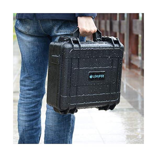 LEKUFEE Custodia da Trasporto per DJI Mavic Air 2 Drone e Accessori (Drone e Accessori Non Inclusi) 6 spesavip