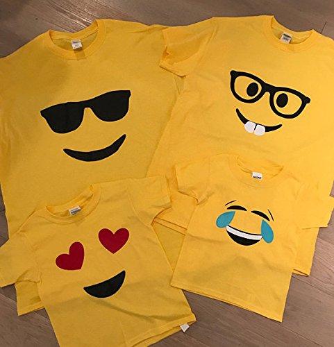 Emoji Unisex T Shirt Adult sizes