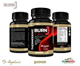 J.Armor Nutrition Weight Loss Pills for Men and Women, Thermogenic Fat Burning and Diet Supplement Capsules, Natural Appetite Suppressant Belly Burner Metabolism Booster - 60 Pill