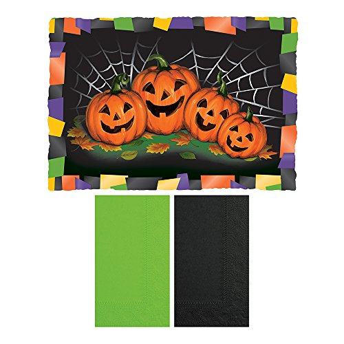 Hoffmaster 856792 Halloween - Placemat and Napkin Combo
