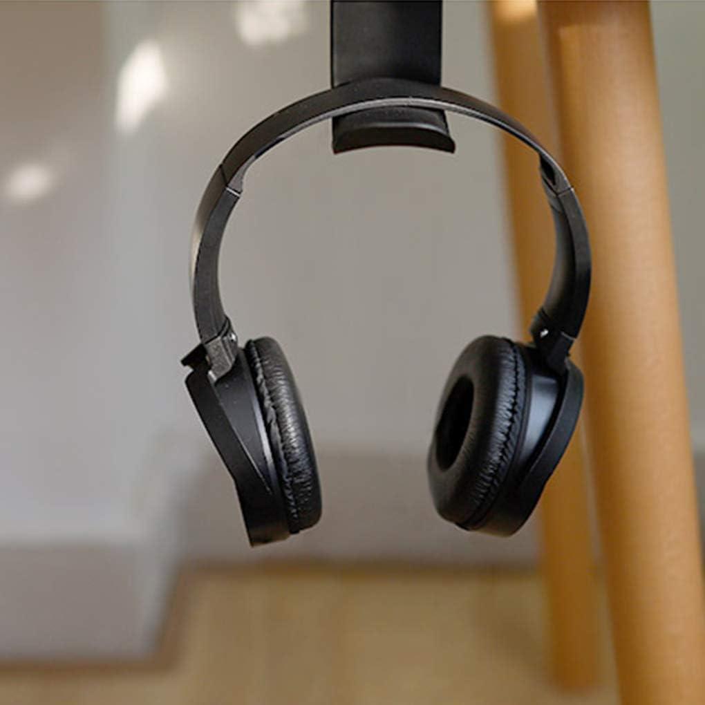 Lidahaotin Aufkleber Acryl Kopfhörer Halterung Aufhänger Unter Schreibtisch Wand
