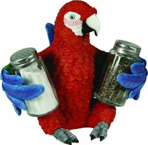 River's Edge Salt and Pepper Shaker Holder (Parrot) ()